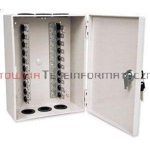 Box / skrzynka rozdzielcza LSA 100 parowa zamykana na kluczyk
