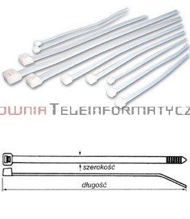 Opaska kablowa 7,6x750 (100szt)