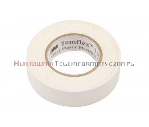 3M TEMFLEX 1300 taśma izolacyjna PCW 19mm X 20m biała