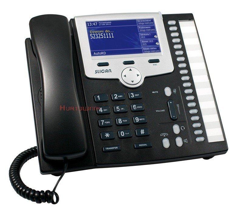 SLICAN Telefon systemowy Slican CTS-330 PoE IP