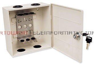 Box / skrzynka rozdzielcza LSA 30 parowa zamykana na kluczyk