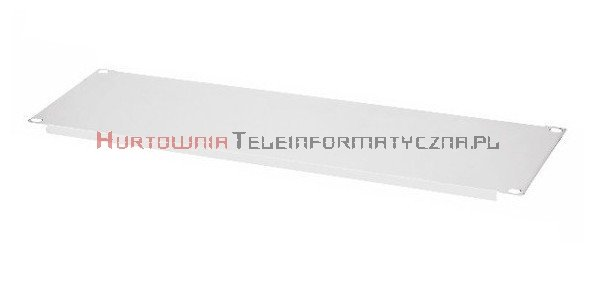 """Płyta wypełniająca 19"""" 3U (szara)"""