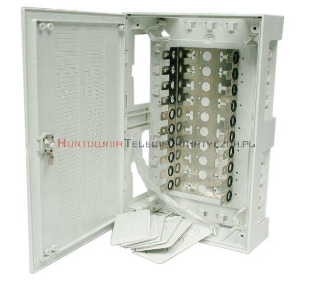Box / skrzynka rozdzielcza LSA 100 parowa zamykana na kluczyk, typ KRONE