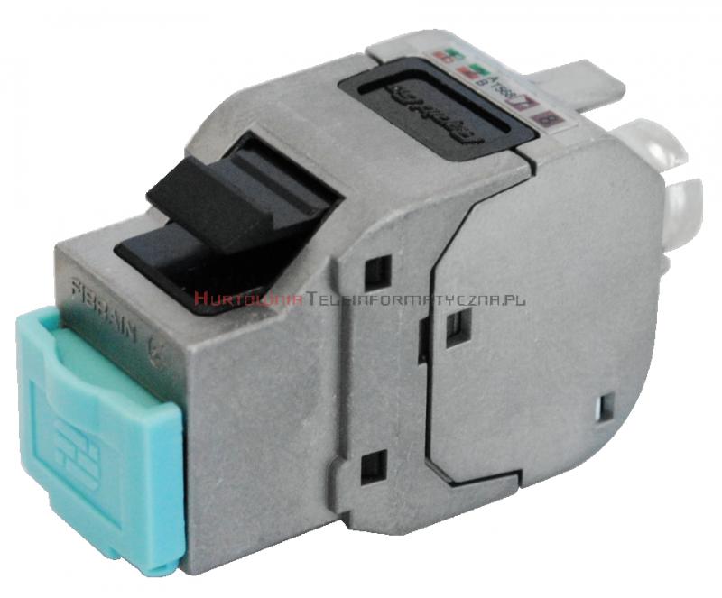 FIBRAIN DATA Rapid FTP keystone RJ45 Kat.6a beznarzędziowy