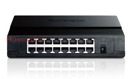 TP-LINK SF1016D Switch 16-port Fast Ethernet, desktop