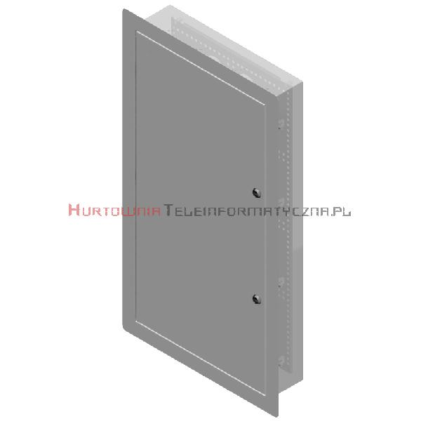 LogiWire Szafka multimedialna podtynkowa 370x720x110