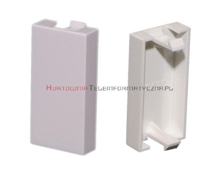 Zaślepka MOSAIC 45x22.5, 1 modułowa, biała