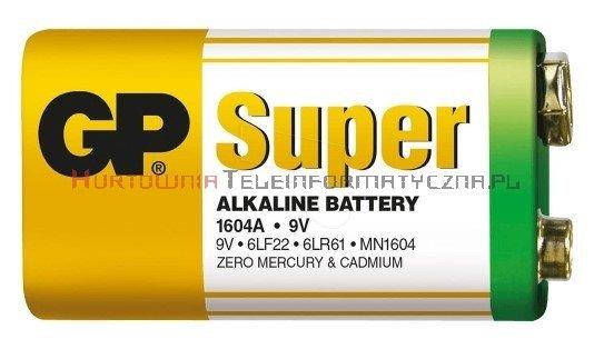 GP SUPER Bateria alkaliczna 9V 6LR61