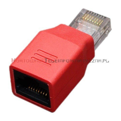 Adapter RJ45 crossover M/F