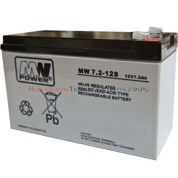 MW POWER Akumulator AGM 12V 7,0 Ah (5lat)
