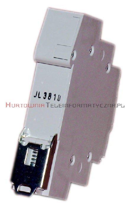 HAGER Lampka sygnalizacyjna – 3 fazowa 230V (czerwona)