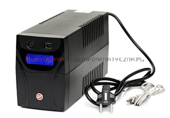 GT UPS PowerBox 850VA/480W