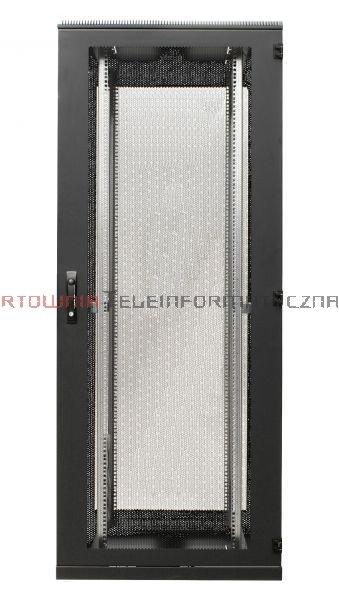 BKT Serwerowa szafa ramowa stojąca TOP II 45U, 800/1200/2120, szer./gł./wys. mm. drzwi perforowane, RAL 7035 ( konstrukcja spawana - nośność 1000 kg )