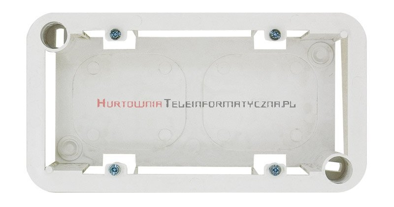 KOS Cosmo 45 puszka natynkowa 4 modułowa, biała