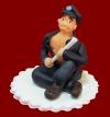Figurka cukrowa na tort POLICJANT Wieczór Panieński