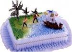 Kardasis - zestaw do dekoracji tortu Piraci z Karaibów