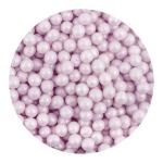 Perełki fioletowe nabłyszczane 50 g