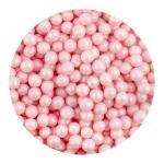Perełki różowe nabłyszczane 50 g