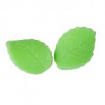 Listki cukrowe duże 20 szt - pistacjowe