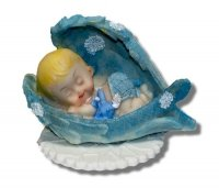 Hokus - Bobas w skrzydłach - dekoracja na chrzest dla chłopczyka