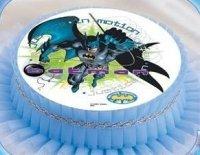 Kardasis - opłatek na tort okrągły Batman 315
