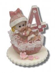 Hokus - Dziecko z cyferką - dekoracja tortu na urodziny