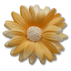 Kwiaty cukrowe MARGARETKA 10szt herbaciane