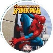 Kardasis - opłatek na tort okrągły Spiderman 1704