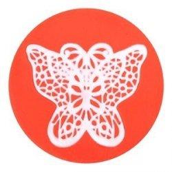 Modecor - Isomalt & Sweet Lace Express Vanessa silikonowa foremka do koronek