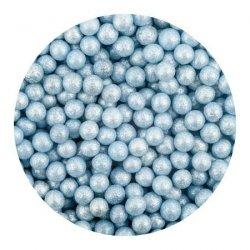 Perełki niebieskie nabłyszczane 1 kg
