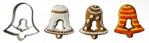 Wykrawaczka do ciastek DZWONEK z dzwonkiem - 5,5 cm