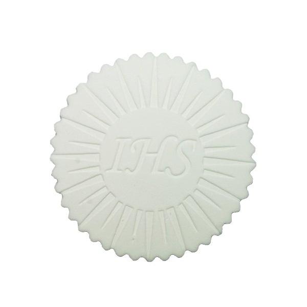 Dekoracja cukrowa na tort HOSTIA IHS promienie 9cm 1szt