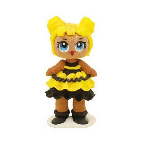 Figurka cukrowa na tort LALECZKA LOL lalka Zuzu 7cm
