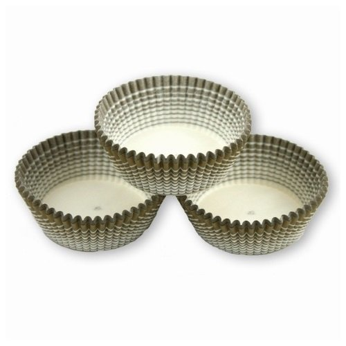 Papilotki foremki na muffinki 45mm oliwkowe 100szt