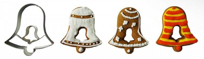 Wykrawacz FOREMKA do ciastek pierników DZWONEK z dzwonkiem 5,5cm
