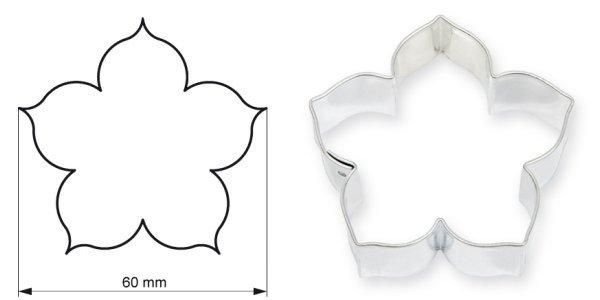 Wykrawaczka do ciastek RÓŻA DUŻA 6 cm