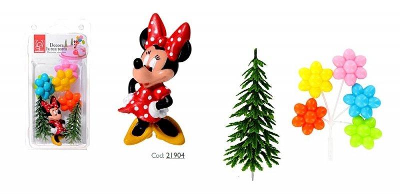 Zestaw do dekoracji tortu figurka Myszka Minnie