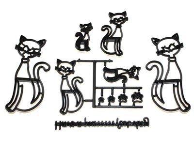 Patchwork Cats - zestaw wycinarek Koty
