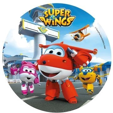Modecor - opłatek na tort Super Wings C