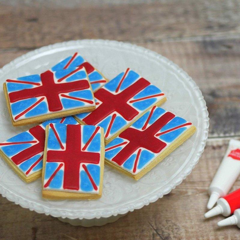 Pisak żelowy do dekoracji tortu ciastek 19g CZARNY