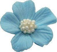 Niezapominajka kwiaty cukrowe 10szt niebieskie