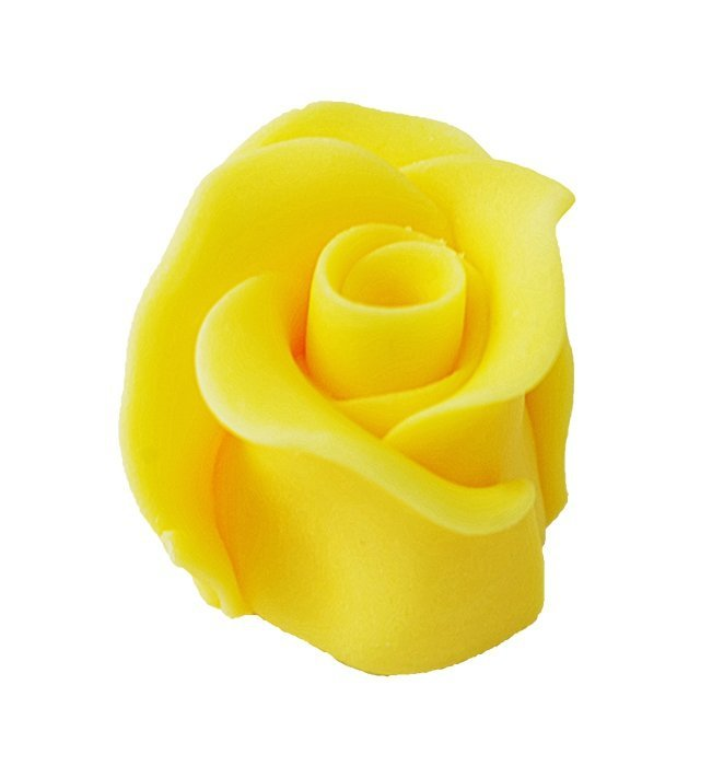 Róże cukrowe DUŻE 22szt żółte