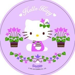 Modecor - opłatek na tort okrągły Hello Kitty C
