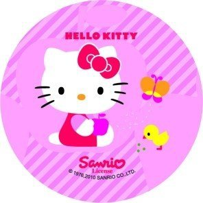 Modecor opłatek na torty Hello Kitty Kurczak 14,5cm