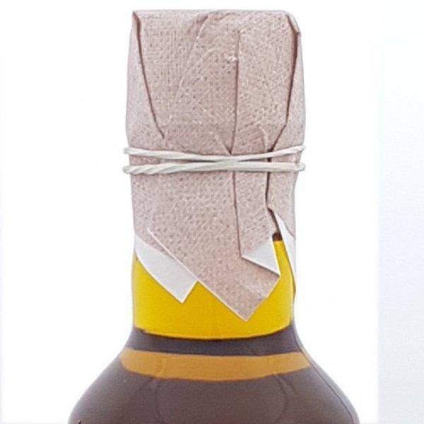 Olej z rydzyka 200 ml bity tradycyjnie - szyjka.