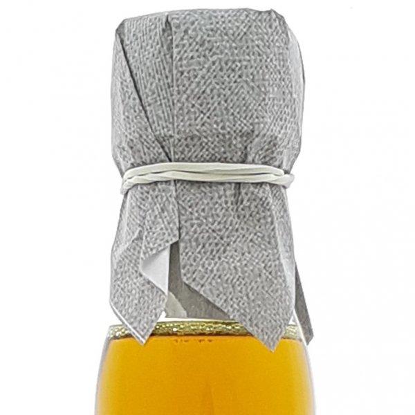 Olej świąteczny roztoczański 500 ml  bity tradycyjnie - szyjka.