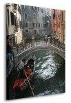 Obraz na ścianę - Wenecja, gondola - 90x120 cm