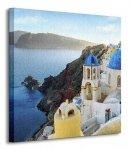 Grecja, Santorini, Oia - Obraz na płótnie