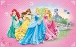 Fototapeta dla Dziewczynki - Księżniczki Princes Disney - 368x254cm