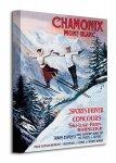 Chamonix Mont-Blanc - Obraz na płótnie